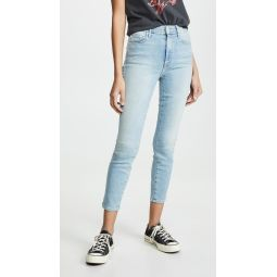 High Waisted Looker Crop Jeans