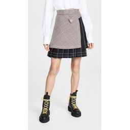 Check Multipanel Skirt