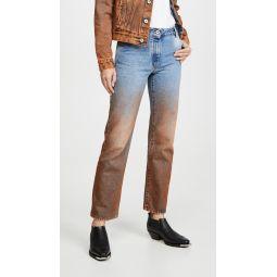Degrade Crop Jeans