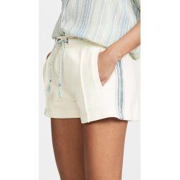 Molly Striped Trim Shorts