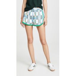 Printed Nylon Running Shorts