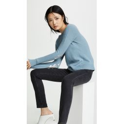 Bolt Patch Cashmere Sweater