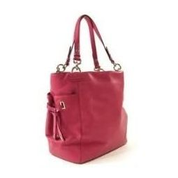 Coach 14523 Peony Peyton Leather Tote Pink