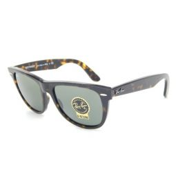 New Ray Ban Orginal Wayfarer RB2140 902 Tortoise/G-15 XLT 54mm Sunglasses