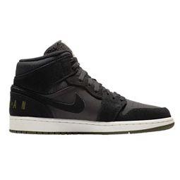 Nike Jordan Mens AJ 1 Mid SE Leather Basketball Shoes