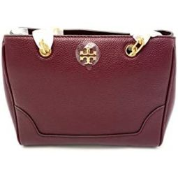 Tory Burch 61438-609 Imperial Garnet Womens Carter Small Tote