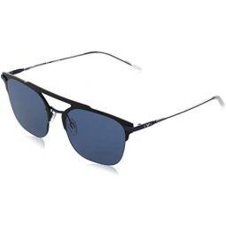 Emporio Armani EA2090 309280 Blue EA2090 Round Sunglasses Lens Category 3 Size