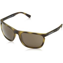 Emporio Armani EA4107 508973 Tortoise EA4107 Rectangle Sunglasses Lens Category