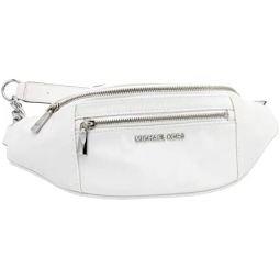 Michaell Kors Mott Nylon Belt Bag Shoulder bag Optic White