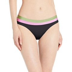 Seafolly Womens Banded Hipster Bikini Bottom with Full Coverage