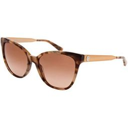 Michael Kors MK2058 331113 Brown Marble Butterfly Sunglasses for Womens