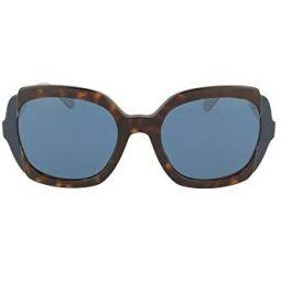 Sunglasses Prada PR 16 US W3C1V1 Havana/Top Blue/Grey, 54/21/140