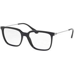 Prada Mens PR 17TVF Eyeglasses 55mm