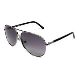 Swarovski SK0138 14B Ruthenium SK0138 Pilot Sunglasses Lens Category 2 Size 59m
