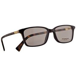 Coach HC 6077 Eyeglasses 51-15-135 Purple Dark Tortoise w/Demo Clear Lens 5335 HC6077