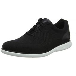 Rockport Garett Mesh Laceup Mens Sneakers Black