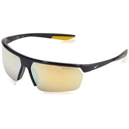 Sunglasses NIKE GALE FORCE M CW 4668 015 Gridiron/Light Bone/Gold Mirr
