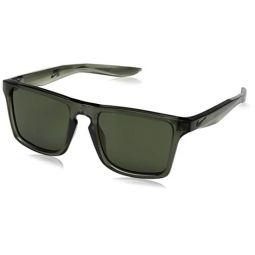 Nike EV1059-333 Verge Frame Green Lens Sunglasses, Cargo Khaki/Medium Olive