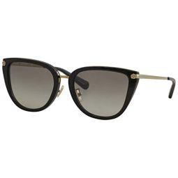 Coach L1099 HC8276 Sunglasses 500211-56 -, Grey Gradient HC8276-500211-56