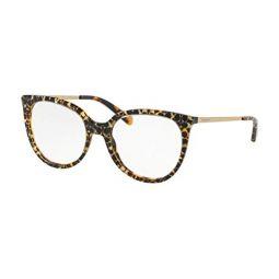 Coach HC6125 Eyeglass Frames 5519-53 - Spotty Tort Sig C Outside Frame, Dome Lens HC6125-5519-53
