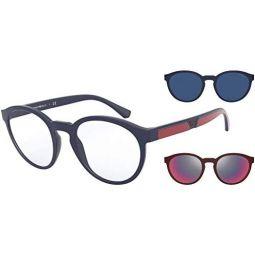 Sunglasses Emporio Armani EA 4152 56691W Matte Blue