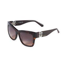 Swarovski Womens Womens Sw 141 54Mm Polarized Sunglasses