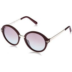 Swarovski Womens SK0153 Round Sunglasses