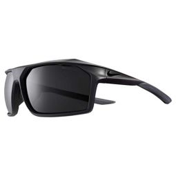 Nike Mens Traverse Rectangular Sunglasses, Matte Oil Grey, 65 mm