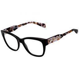 Michael Kors COURMAYEUR MK4059 Eyeglass Frames 3005-52 - Black MK4059-3005-52
