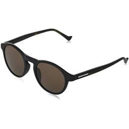 Sunglasses Emporio Armani EA 4138 F Asian fit 501773 Matte Black