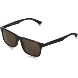 Armani EA4137F Sunglasses 508973-54 -, Brown EA4137F-508973-54