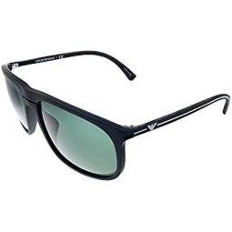 Sunglasses Emporio Armani EA 4118 F 506371 Black Rubber