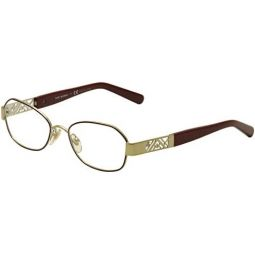Tory Burch Eyeglasses TY1043 3062 Cabernet/Gold 50 17 135