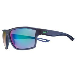 Nike Mens Legend M Rectangular Sunglasses, Matte Midnight Navy, 65 mm