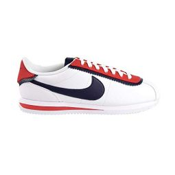 Nike Cortez Basic SE Mens Shoes White/Obsidian/University Red cd7253-100