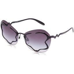 Emporio Armani EA2060 30148G Black EA2060 Cats Eyes Sunglasses Lens Category 3