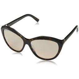 Sunglasses Swarovski SK 136 52G dark havana / brown mirror