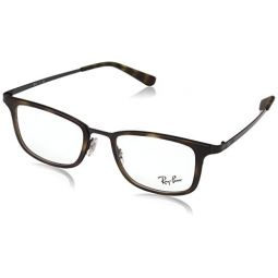 Ray-Ban Mens 0RX6373M Black One Size