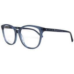 Swarovski frame (SK-5264-V 090) Acetate Transparent Blue - Glitter Blue