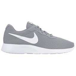 NIKE Mens Tanjun Sneakers, Breathable Textile Uppers and Comfortable Lightweight Cushioning
