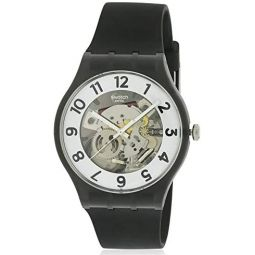 Swatch Archi-Mix Quartz Movement White Dial Unisex Watch SUOB134