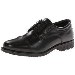Rockport Mens Waterproof Lead The Pack Cap-Toe Oxford