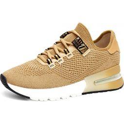 ASH Womens Kyle Lurex Sock Sneaker