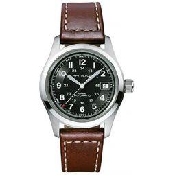 Hamilton Khaki Automatic Movement Black Dial Mens Watch H70455533