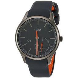 Timex Mens IQ+ Move Activity Tracker Silicone Strap Smart Watch