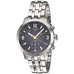 Tissot Mens T0554171105700 PRC200 Analog Display Quartz Silver Watch