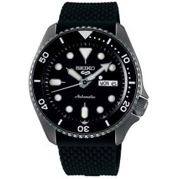 Seiko 5 SRPD65K2 Mens Watch Automatic Rubber