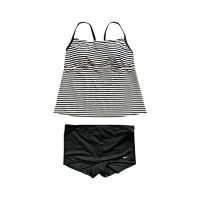 Nike Womens Tankini Athletic Two-Piece Swimsuit