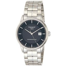 Tissot Mens Luxury Swiss-Quartz Watch with Stainless-Steel Strap, Silver, 20 (Model: T0864071120102): Clothing