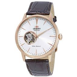 Orient Open Heart Automatic White Dial Mens Watch FAG02002W0